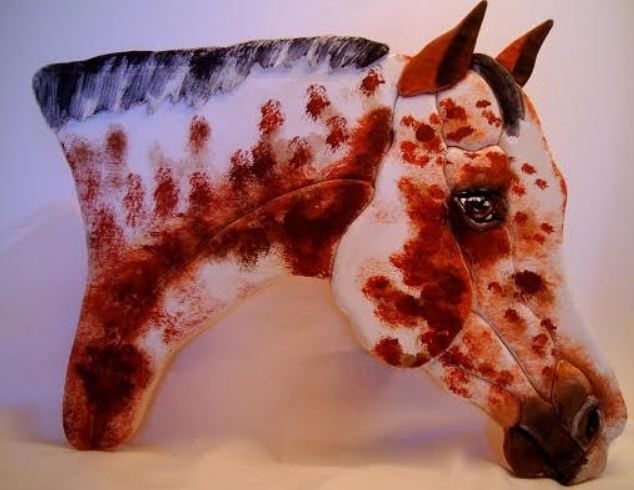 KK APPY - Wood Mosaic of YOUR APPALOOSA