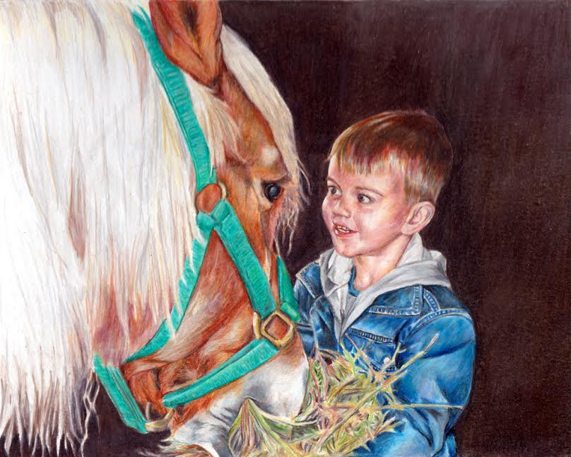 KF CP - Your Horse in Colored Pencil