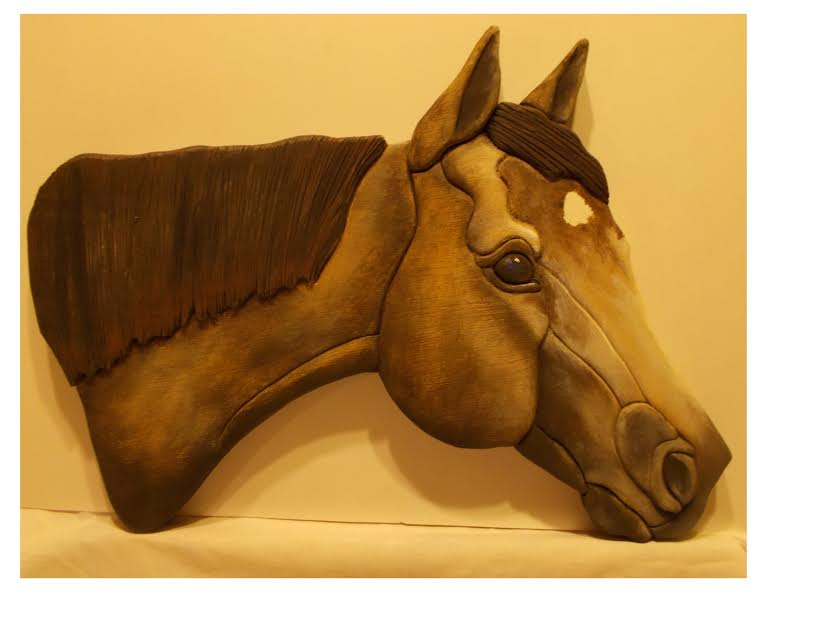 KK QH - Wood Mosaic of YOUR QUARTER HORSE