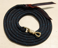 EM TWST - Training Lead Ropes w/Twist Snap 20 colors!