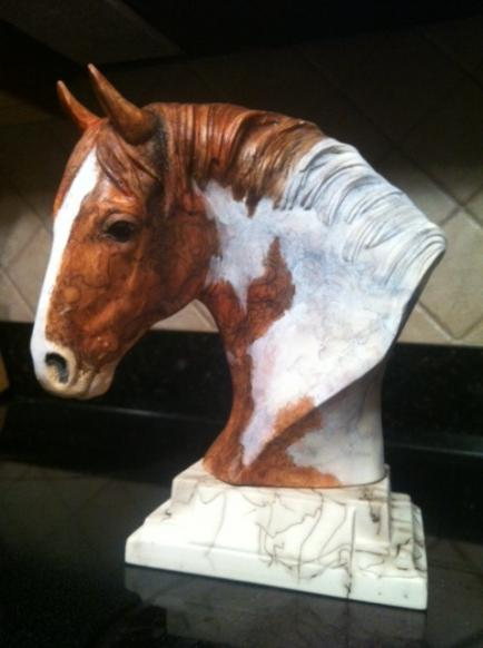 DD WB C - Colored Horsehair Pottery - YOUR WARMBLOOD